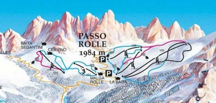 Passo Rolle Skinet
